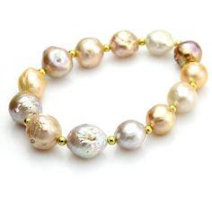 Baroque Bracelet of Freshwater Pearls