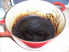Removing Burnt Food From Your Pots