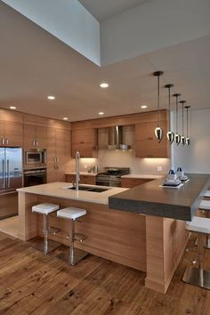 """""""View this Great Contemporary Kitchen with Limestone & Slate counters by Jeri Woodward. Discover & browse thousands of other home design ideas on Zillow Digs."""""""