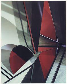Barbara Kasten  Construct LB 5  1982. Polaroid. 10 x 8 inches, 25.4 x 20.3 cm
