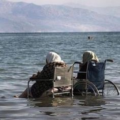 me and the chair are going swimming!
