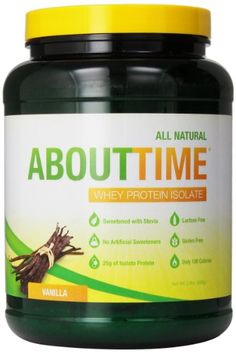 SDC Nutrition About Time Whey Protein Isolate, Vanilla, 2 Pound SDC Nutrition http://www.amazon.com/dp/B002UTSU8I/ref=cm_sw_r_pi_dp_W2ttub17RT012