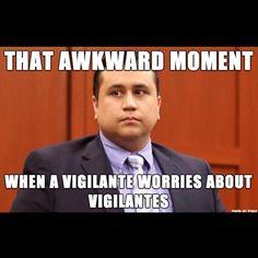 That awkward moment when a vigilante worries about vigilantes