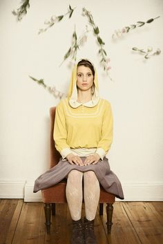 Soft yellow hoody  by Ave--evA