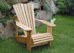 Gartenmöbel selber bauen: Adirondack Sessel