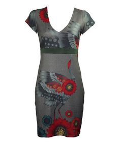 Loving this Red & Gray Lydia Dress on #zulily! #zulilyfinds
