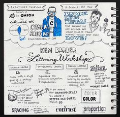 Baratunde Thurston & Jonathan Mann @ Brooklyn Beta / Ken Barber: Drawing Letters Workshop @ CooperU | Flickr - Fotosharing!