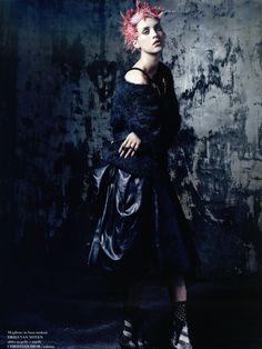 Julia Frauche by Robbie Fimmano for Flair November 2013