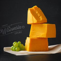 Wisconsin Colby. #cheese #farms #wisconsin  Holy fuck I love cheese!  I should have board just for cheese...