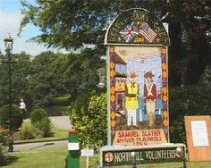 This is in Belper river Gardens