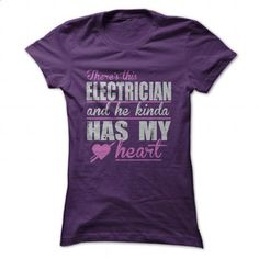 Heart - Electrician - #custom shirt #mens zip up hoodies. MORE INFO => https://www.sunfrog.com/Jobs/Heart--Electrician-Ladies.html?60505