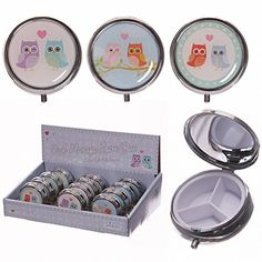 Round Metal Pill Box - Cute Love Owls by Puckator Puckator https://www.amazon.de/dp/B01N8Z2244/?m=A37R2BYHN7XPNV