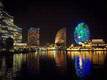 Yokohama night view Royalty Free Stock Photos