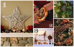 5 super simple nature-inspired Christmas crafts! --> http://blog.hgtvgardens.com/easy-nature-inspired-christmas-crafts/?soc=pinterest #holiday #crafty #diy