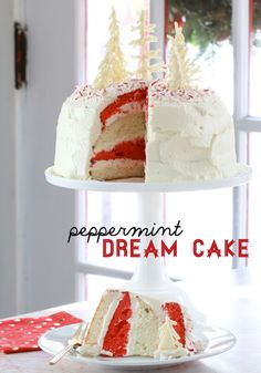 It's time for holiday baking! Whip up this delicious Peppermint Dream Cake from BHG's Delish Dish. Get the recipe here:  http://www.bhg.com/blogs/delish-dish/2013/12/11/peppermint-dream-cake/