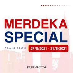Padini Online Merdeka Special RM31 Deals Sale from 27 August 2021 until 31 August 2021 Deal Sale, Special Deals, Fashion Sale, How To Apply