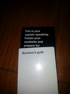 Cards Against Humanity literally looks like the acest thing EVER. I will…