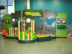 Boss Display Photo Viewer | Kids can dress up as a logger and maneuver foam trees with the forester crane. from Mississippi Children's Museum Exhibits