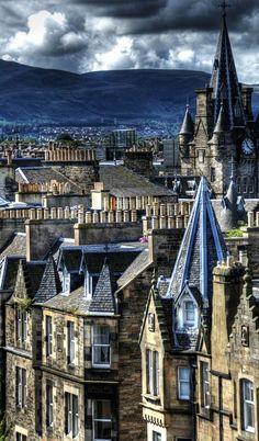 Edinburgh , Scotland , from Iryna