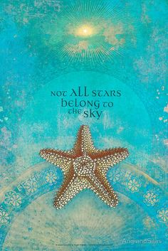Not all stars belong to the sky © Angi Sullins & Silas Toball beach quotes I Love The Beach, My Love, My Happy Place, Travel Quotes, Sea Shells, Inspirational Quotes, Motivational Quotes, Quotes Positive, Feelings