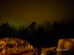 Barb S., Moorefield  after the snow lights from the town of Moorefield, WV #WHSVsnow snow light