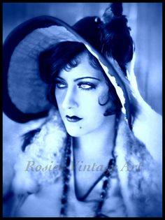 Blue Beauty - Gloria Swanson as Sadie Thompson 1928 Silent Film