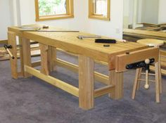 The workbench is a DIY project's hub. It's where supplies are kept and progress gets made. Sure, you can buy a workbench, but unless you're upgrading to a professional European-style model, I recommend building your own. A basic, customizable bench requires only two tools—a saw and a drill. Scroll down to see five DIY workbenches you can build in a weekend.<p>1. WORK TABLE<p>Designed for building small aircraft, this work table is built from easy-to-find materials and features simple yet…