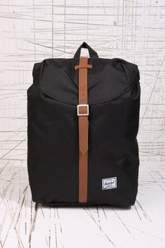 Herschel Black Post Backpack at Urban Outfitters