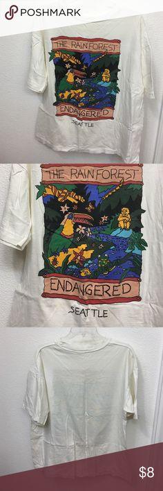 The Rainforest Endangered Seattle TShirt Seattle TShirt Shirts Tees - Short Sleeve