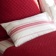 I pinned this Minotte Lumbar Pillow in Raspberry from the Taylor Linens event at Joss and Main!