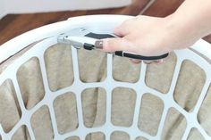 These look so high end, you won't believe how cheap they are! Storage Hacks, Space Saving Storage, Storage Ideas, Diy Storage, Diy Wrapping Paper Storage, Wrapping Paper Holder, Laundry Basket Holder, Plastic Laundry Basket, Rolling Laundry Basket