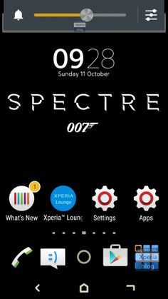 Spectre 007 James Bond Xperia Theme APK- Free Download