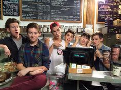 Our2ndLife (Jc Caylen, Kian Lawley, Connor Franta, Ricky Dillon, Sam Pottorff and Trevor Moran)