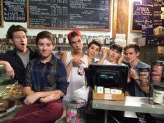 Our2ndLife (Jc Caylen, Kian Lawley, Connor Franta, Ricky Dillon, Sam Pottorff and Trevor Moran)