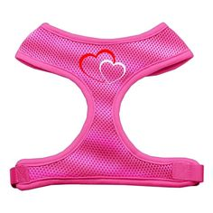 Mirage Pet Products Double Heart Design Soft Mesh Dog Harnesses, X-Large, Pink -- Details can be found by clicking on the image. (This is an affiliate link and I receive a commission for the sales)