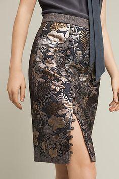 Gilded Garden Skirt - anthropologie.com
