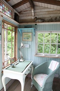 imagine a little rustic cabin by a lake - just for you - somewhere cool to sit, reflect, and write, even on the hottest days - serene...