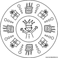 vogel mandala - ausmalbilder für kinder | ausmalen