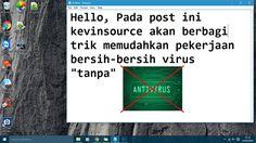 """Virus ? (Ya virus komputer pada konteks postingan kali ini) Pada pelajaran biologi virus disebut sebagai suatu makhluk hidup yang bisa """"hidup"""" jika berada ditempat yang """"tepat"""" (tubuh makhluk hidup). Virus tidak dapat hidup pada tubuh dengan antibodi yang baik. Begitu juga komputer virus tidak dapat hidup pada komputer yang memiliki antivirus yang baik (up-to-date). Namun ada disaat antibodi tubuh manusia kualitasnya menurun disaat itulah virus mudah menginfeksi. Pada komputer sendiri…"""