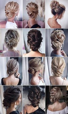 "26 Gorgeous Updo Wedding Hairstyles from tonyastylist – Page 2 of 2 stunning b., Easy hairstyles, "" 26 Gorgeous Updo Wedding Hairstyles from tonyastylist – Page 2 of 2 stunning bridal updos wedding hairstyles Source by heikefey. Bridal Hair Updo, Wedding Updo, Vail Wedding, Wedding Ceremony, Wedding Hair Styles, Boho Wedding, Wedding Bangs, Wedding Makeup, Wedding Bride"