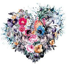 EverShine DIY Diamond Painting Skull Cross Stitch Diamond Embroidery Heart Picture Of Rhinestones Diamond Mosaic Handmade Art Diamond Drawing, 5d Diamond Painting, Embroidery Hearts, Cross Stitch Embroidery, Skull Tattoos, Body Art Tattoos, Framed Art Prints, Canvas Prints, Skull Art