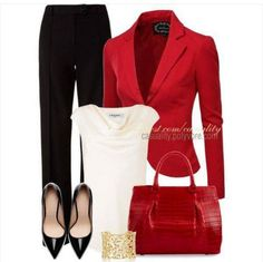 Casual blazer outfit for women (138)