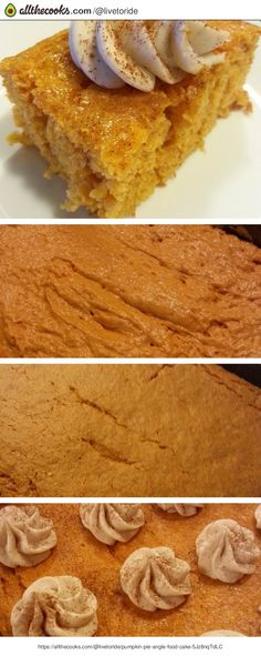 """""""This is simple cake. Topped with a cinnamon cream cheese frosting. My Honey just Loved it. Went back for seconds. M&m Cookie Recipe, Cookie Recipes, Triple Chocolate Bundt Cake Recipe, Angle Food Cake Recipes, Oxtail Recipes, Angel Food Cake, Base Foods, Frosting, Cookies"""
