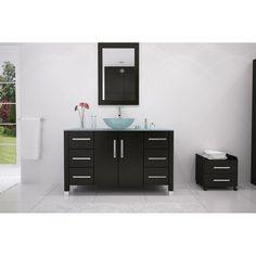 JWH Living Grand Crater Single Bathroom Vanity - JWH-3116