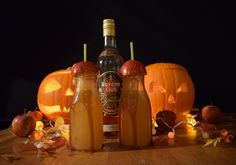 TOFFEE APPLE COCKTAIL     HALLOWEEN COCKTAILS
