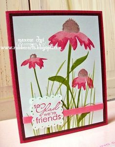 Rubber Arts - Stampin' Up with Maxene!: Inspired by Nature!