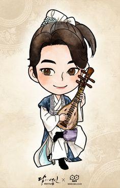 The 13th Prince,Baek Ah Moon Lovers: Scarlet Heart Ryeo 달의 연인-보보경심 려