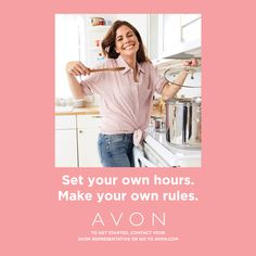 Become an Avon Representative Online and work from home. Be your own boss. Become an Avon Representative. Avon Care, Leadership Programs, Think, Avon Representative, Perfect Pink, Classic Chic, Be Your Own Boss, Love Makeup, Business Opportunities