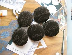 Your place to buy and sell all things handmade North And South America, National Holidays, Very Lovely, Covered Buttons, Script, Magnets, Fabric, Handmade, Stuff To Buy