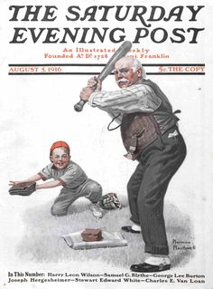 Saturday Evening Post, August 15, 1916 (Norman Rockwell)